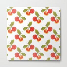 Acerola Caribbean Cherry Metal Print