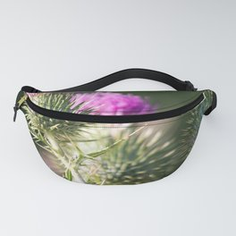 Thistle in the Spring Fanny Pack