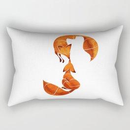 Kissing foxes Rectangular Pillow