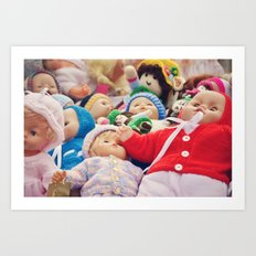 It's a Doll's Life Art Print