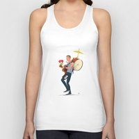 coldplay Tank Tops featuring A sky full of stars! by Diego Caceres