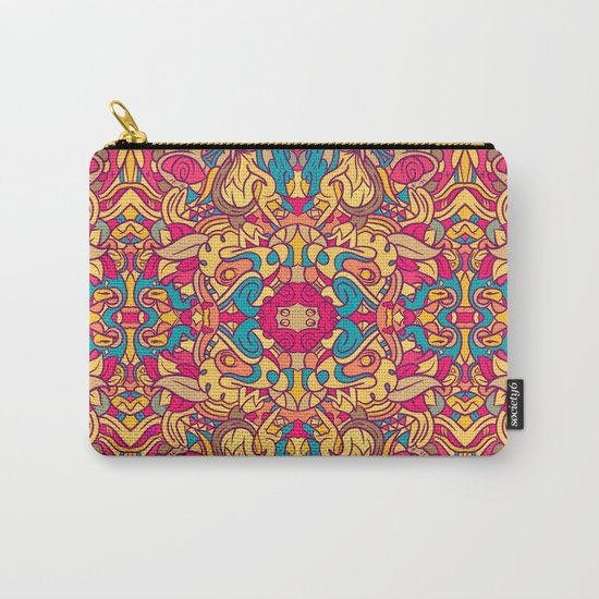 Eye Of The Beast Pattern Carry-All Pouch