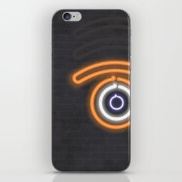 neon glance iPhone Skin