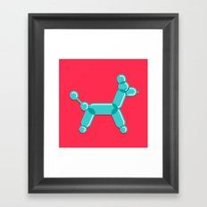 Baloodle Framed Art Print