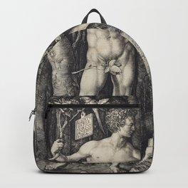 Albrecht Dürer - Adam and Eve (1504) Backpack