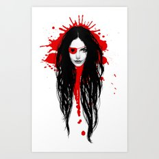Pirata Blood Art Print