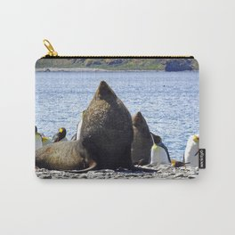 Fur Seal Resting Carry-All Pouch