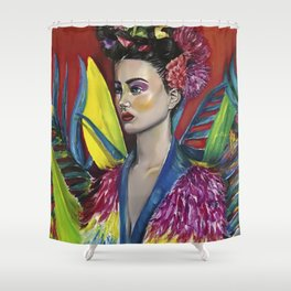 MEXICAN WOMAN Shower Curtain