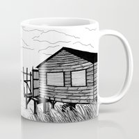 wind Mugs featuring Wind by Aleksandra Kabakova