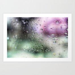 Rainy days - Colour Art Print