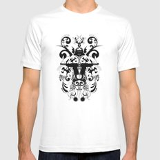 Mimic Mens Fitted Tee White MEDIUM