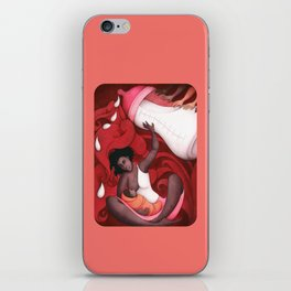 Breastfeeding and African-American Women iPhone Skin