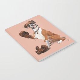 The Boxer (colour) Notebook