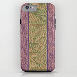Green and Purple iPhone Case