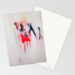 this means war Stationery Cards