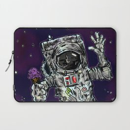In Space No One Can Hear You Scream For Ice Cream Laptop Sleeve