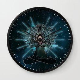 Emanate love Chakra Wall Clock