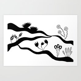 drawing Art Print