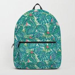Tropic Pattern Backpack