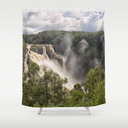 Barron Falls in Queensland Shower Curtain