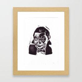 Bela Lugosi is Dracula Framed Art Print