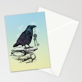 Raven's Keys Stationery Cards