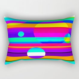 Re-Created Intersection IV by Robert S. Lee Rectangular Pillow