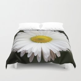 Flower of my Eye- Photo of a daisy Duvet Cover