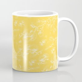 Pohutukawa flowers on gold Coffee Mug
