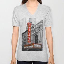Chicago Theater Unisex V-Neck