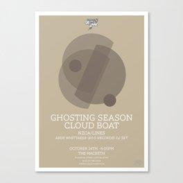 Ghosting Seasons Canvas Print