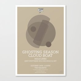 Ghosting Seasons Canvas Print
