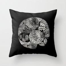 Drawing 2 Throw Pillow