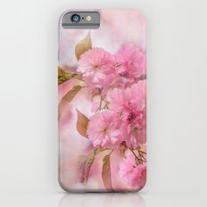 Pink blooms iPhone 6s Slim Case