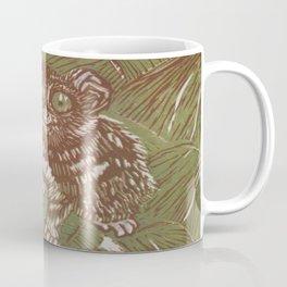 Green Tarsier Coffee Mug