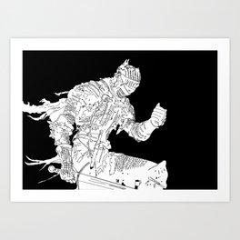 Soul of Cinder Art Print