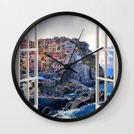 Bella Italia | OPEN WINDOW ART Wall Clock