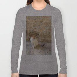 Summertime Cat  Long Sleeve T-shirt