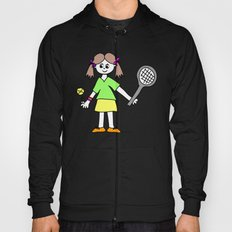 Tennis Girl Hoody