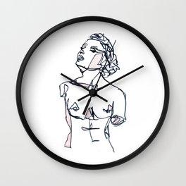 Chin Up Wall Clock