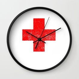 Funny Broken Collarbone Bone Fractured Clavicle Wall Clock
