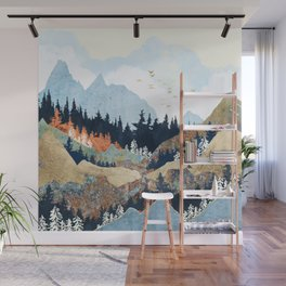 Spring Flight Wall Mural