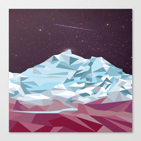 Night Mountains No. 25 Canvas Print