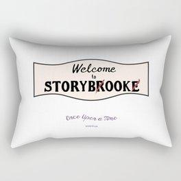 OUAT  Welcome to Storybrooke sign Rectangular Pillow