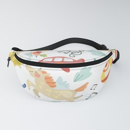 Unicorn Song Fanny Pack