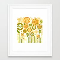 sunshine Framed Art Prints featuring Sunshine by Shelly Bremmer