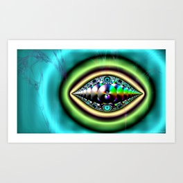 Eye of Tomorrow Art Print
