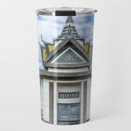 The Memorial Stupa of Choeung Ek, Cambodia Travel Mug