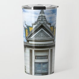 The Memorial Stupa of Choeung Ek, Cambodia Travel Mug