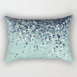 Cali Summer Vibes Lady Glitter #5 #shiny #decor #art #society6 Rectangular Pillow